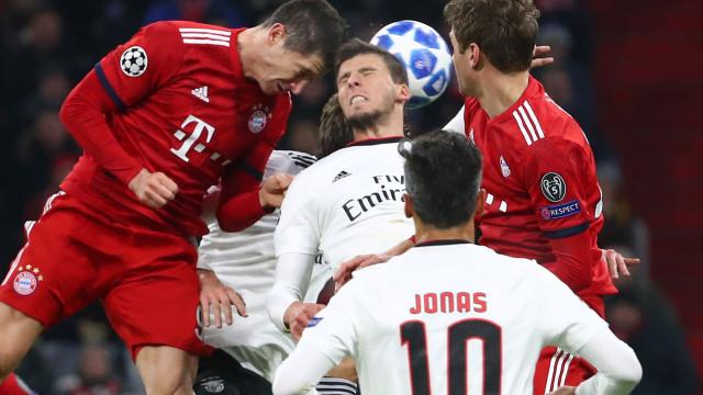 O que disse a imprensa internacional sobre o jogo do Benfica em Munique