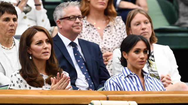 Fonte diz que Meghan Markle deixou Kate Middleton em lágrimas