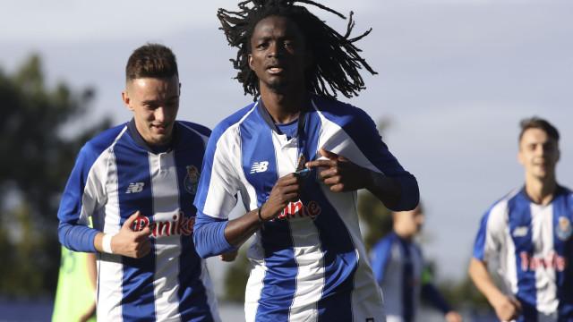 FC Porto: Autor de bis na Youth League alvo de insultos racistas
