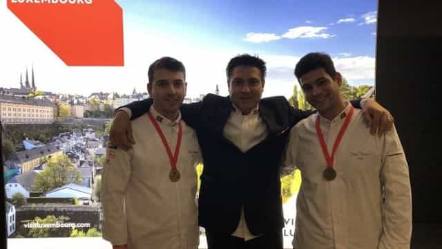 Dois Chefes portugueses garantem presença nas Olimpíadas da Culinária