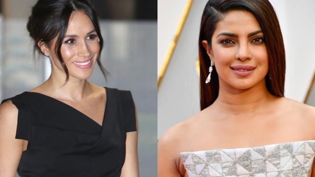 Meghan Markle não vai ao casamento da sua grande amiga Priyanka Chopra
