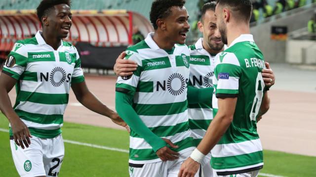 Sporting coloca dois jogadores na equipa da semana da Liga Europa