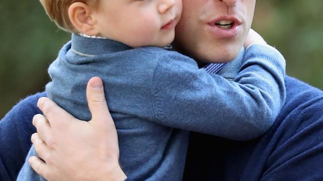 A carinhosa alcunha com que George trata o pai, o príncipe William
