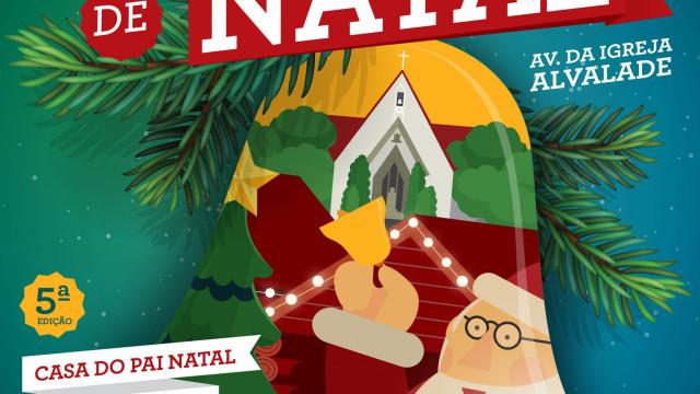 Precisa de ideias para prendas? Visite o mercado de Natal em Alvalade