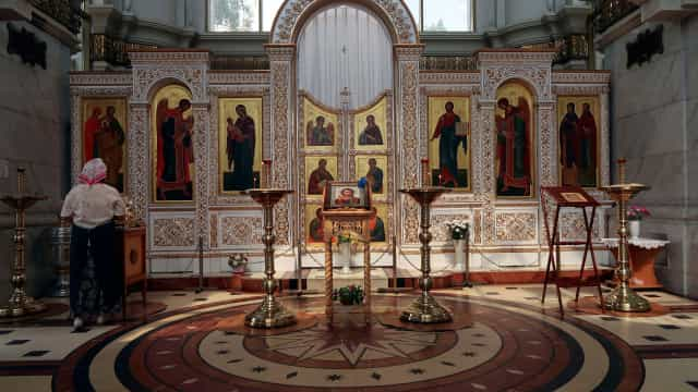 Ucranianos fazem buscas em casa de religioso da Igreja Ortodoxa Russa
