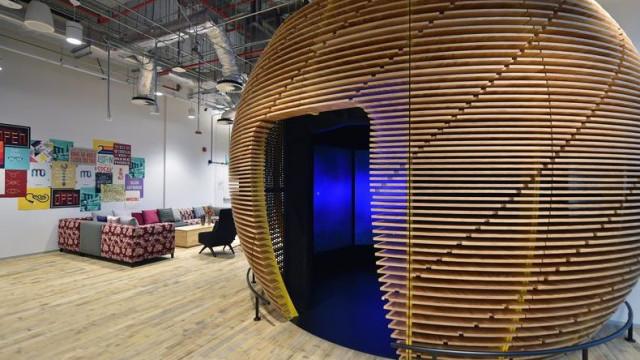 Facebook estreou nova sede em Singapura. Veja as imagens