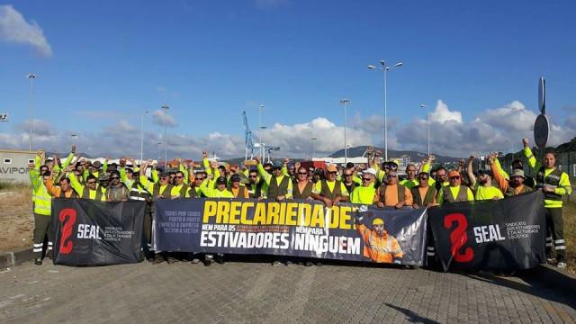 Greve Estivadores: Há acordo no porto de Setúbal