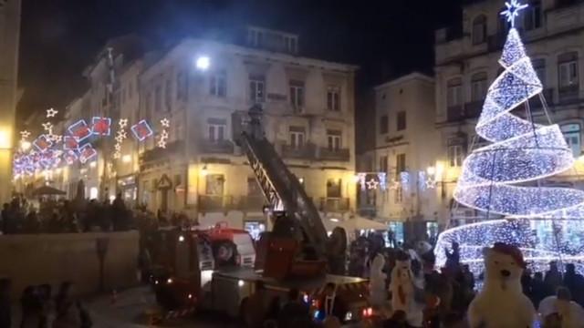 'Casinha do Pai Natal' e pista de gelo nas comemorações em Coimbra