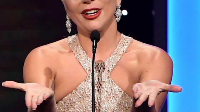 Lady Gaga desfez-se em lágrimas ao perder Globo de Ouro de Melhor Atriz