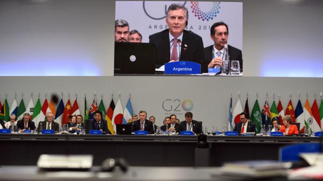 G20 reafirma apoio a acordo de Paris com exceção dos EUA