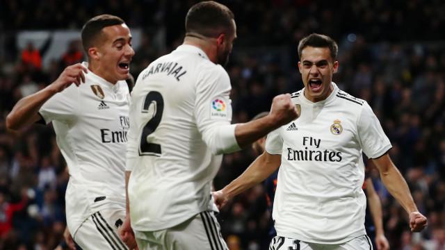 Onde está Guedes? R. Madrid atira o Valencia para o 'tapete' do Bernabéu