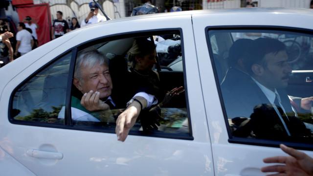Presidente do México realça tratamento respeitoso de Trump ao tomar posse
