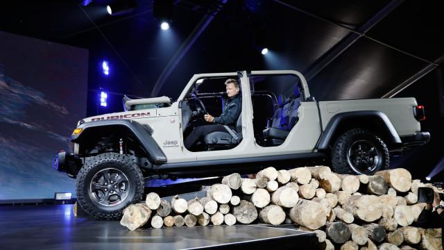 Jeep Gladiator: A 'Pick-up' que deixou água na boca nos EUA