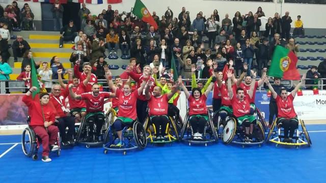 Portugal vence torneio europeu de andebol em cadeira de rodas