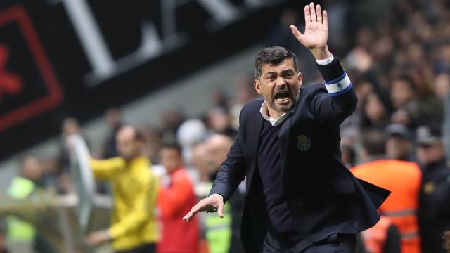 FC Porto em protesto contra expulsão de Conceição