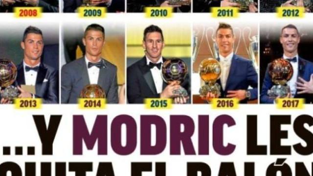 """Polémica em Itália, """"vergonha"""" em Inglaterra e a Bola de Ouro para Modric"""