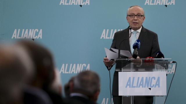 Congresso do Aliança termina com confirmação de Santana como presidente