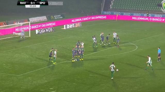 Obra-prima de João Schmidt 'quebrou' a vantagem do Sporting