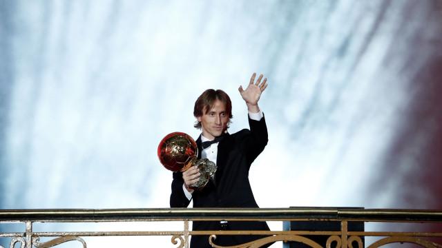 Bola de Ouro: Modric conseguiu o que estes sete só sonharam