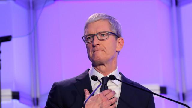"""Discurso de ódio? """"Não tem lugar na nossa plataforma"""", diz CEO da Apple"""