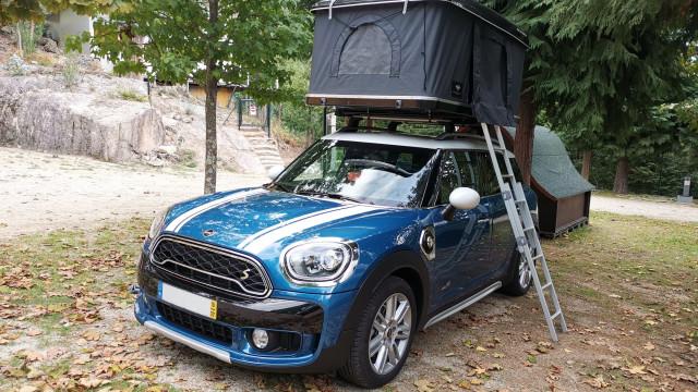 MINI Countryman: Uma nova forma de acampar para não esquecer