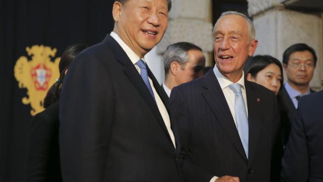 Marcelo visita a China em abril e anuncia memorando de acordo bilateral