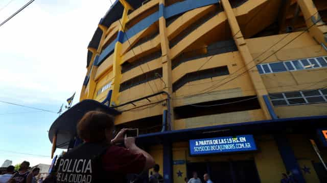 Ameaça de bomba no estádio do Boca Juniors
