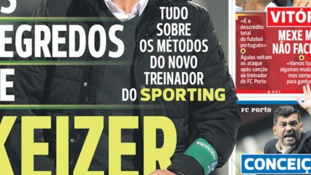 """Por cá: Os segredos de Keizer e o """"banco sem réus"""" do FC Porto"""
