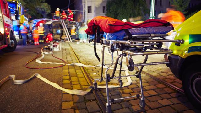 """""""Só eu sobrevivi. O meu noivo faleceu"""", um agradecimento a bombeiros"""