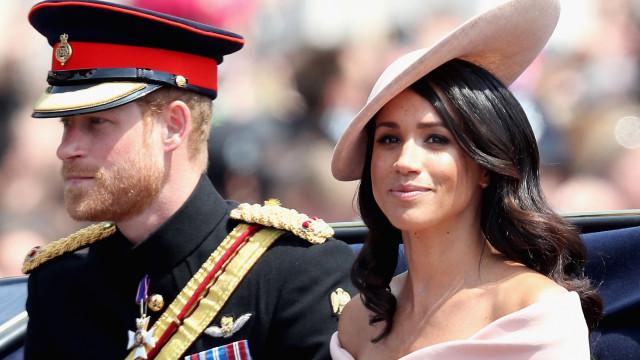 Príncipe Harry e Meghan Markle ameaçados por grupo neonazi