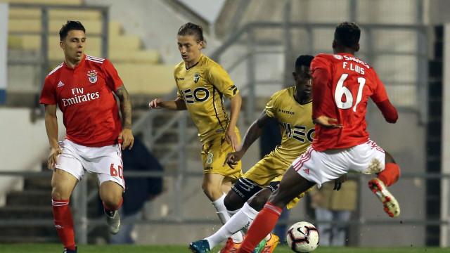 Vitória do Benfica B em Faro teve 'benção' Dos Anjos