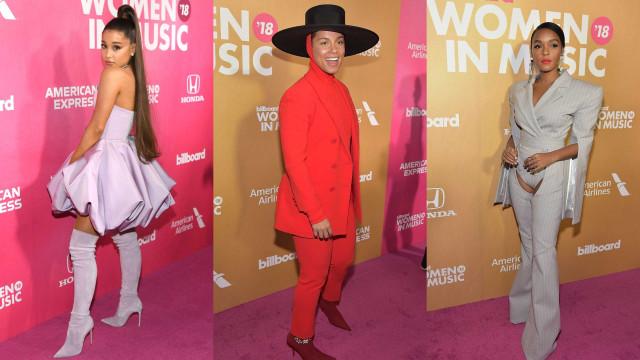 Women in Music: Os looks que desfilaram na passadeira vermelha