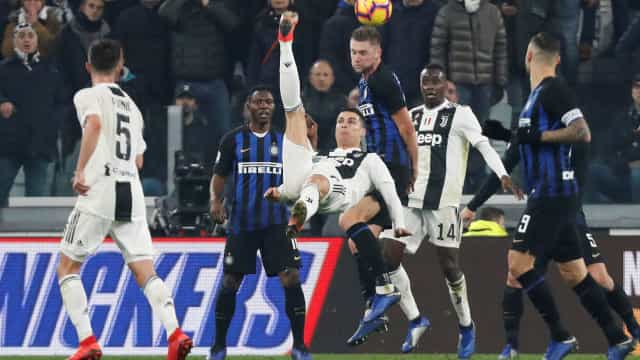 Serie A: Siga em direto os resultados e marcadores da 16.ª jornada