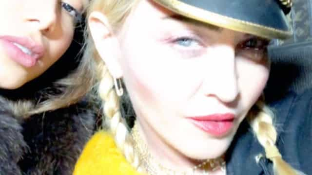 Dueto a caminho? Anitta encontra-se com Madonna em Nova Iorque