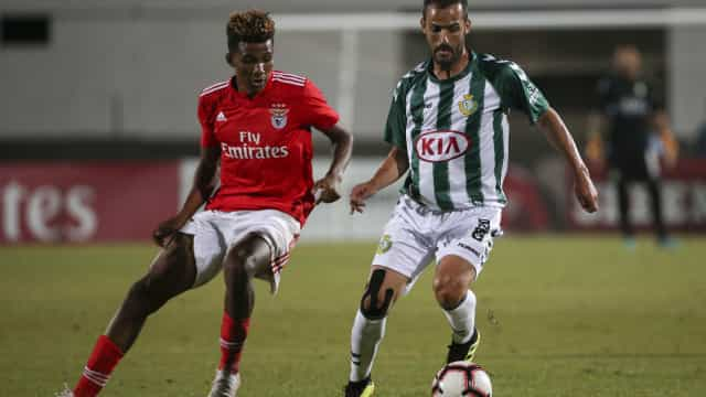 [0-0] V. Setúbal-Benfica: Rola a bola no Bonfim
