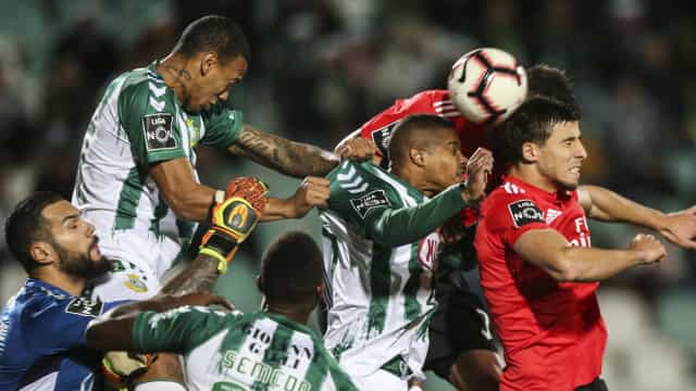 [0-1] V. Setúbal-Benfica: Jonas inaugura o marcador