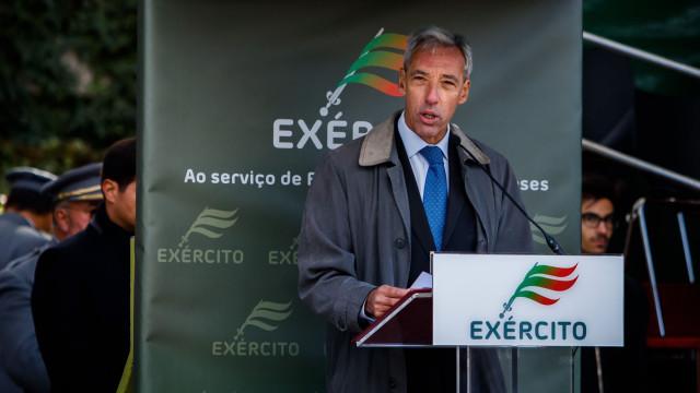 """Missão dos militares portugueses na RCA é """"difícil"""", diz Ministro"""
