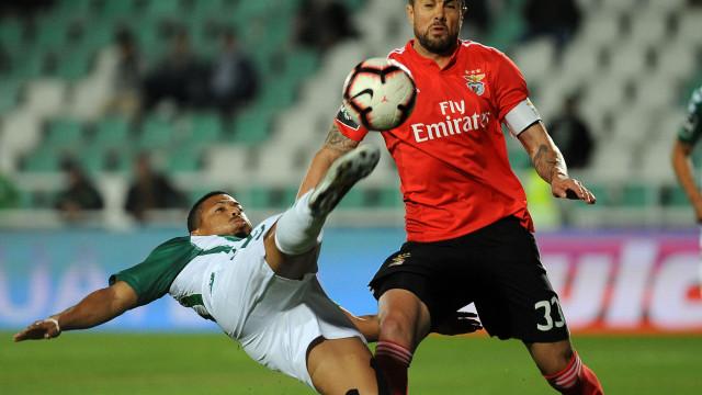 [0-1] V. Setúbal-Benfica: Já se joga a segunda parte