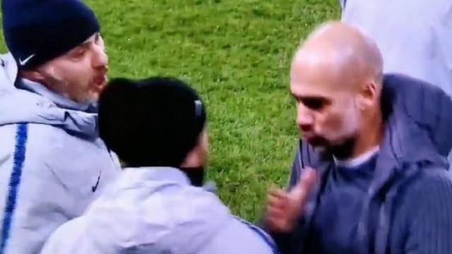 Depois de Mourinho, também Guardiola perdeu a cabeça com adjunto de Sarri