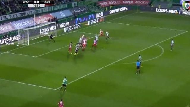 Defendi foi ao segundo andar e fez o primeiro frente ao Sporting