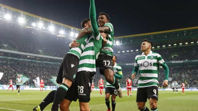 [4-1] Sporting-Desp. Aves: Diaby faz o quarto golo