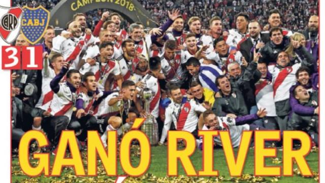 Imprensa internacional: Festa da Libertadores corre o mundo