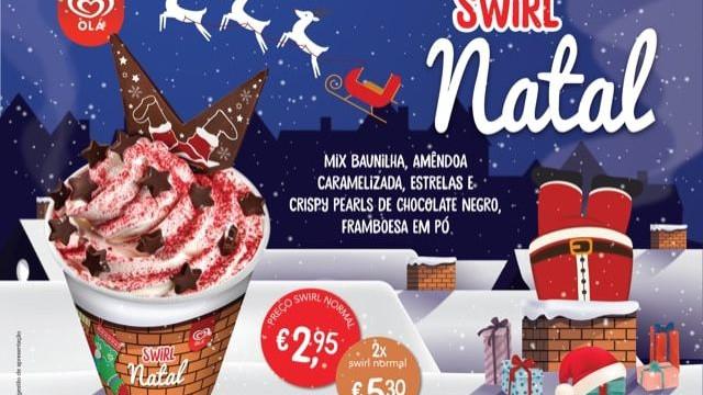Este ano o Natal traz um Swirl no sapatinho