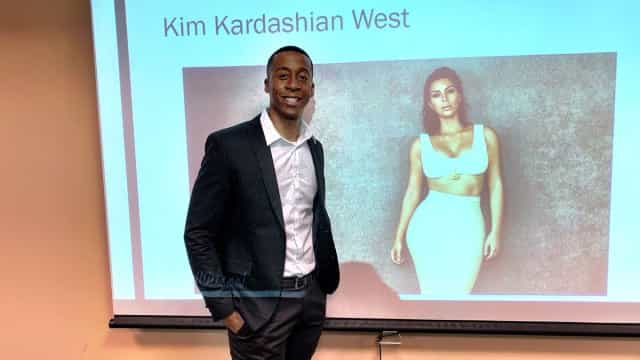 Estudante faz tese de mestrado sobre Kim e socialite pede uma cópia