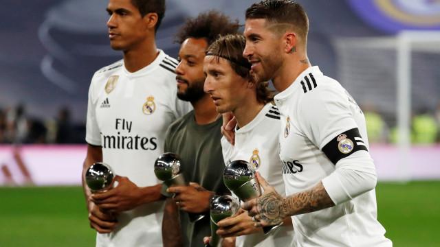 Modric revela as palavras de Varane após final do Mundial