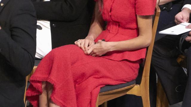 Amal Clooney deslumbrante na gala do Prémio Nobel da Paz