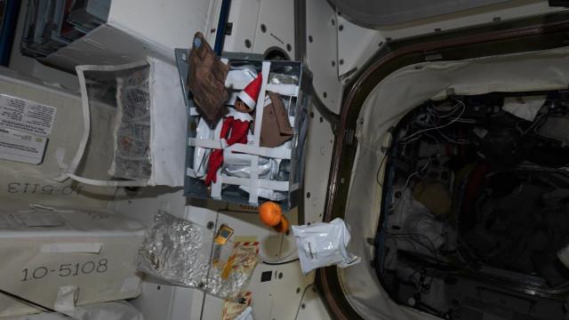 Estação Espacial recebeu um novo 'passageiro' a tempo do Natal
