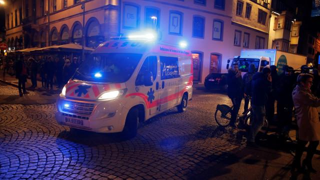 Eis as imagens do cenário do tiroteio de Estrasburgo