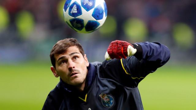 """""""Negociações quase fechadas"""": Casillas pode rumar para Espanha em março"""