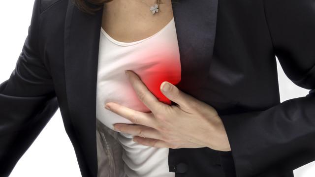 Tic-tac. Sintomas de ataque cardíaco que todas as mulheres devem conhecer